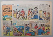 Lone Ranger Sunday Page by Fran Striker and Charles Flanders from 11/16/1941