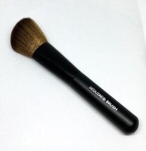 Angled Flat Top Round Powder Foundation Bronzer Blusher Contour Makeup Brush UK