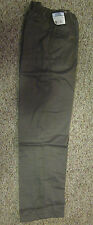 Men's Habands Ice House Brown Flannel Lined Pants Size 32 Length-NEW in plastic