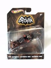 Hot Wheels Batman Batmobile 1966 TV Series Mattel 1:50