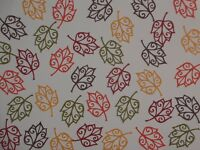 """35 silhouette leaves in 5 shades of autumn colors   2""""  die cuts"""
