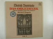 LP Buxtehude das orgelwerk VL 3 M Chapuis TELEFUNKEN