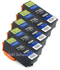 5PK XL BK Ink For Epson 273XL Expression XP-Series XP520 XP610 XP620 XP800 XP820