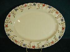 "Copeland Spode Wicker Dale 13"" Oval Serving Platter"