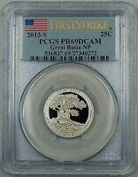 2013-S Proof First Strike Great Basin National Park Quarter Coin PCGS PR-69 DCAM