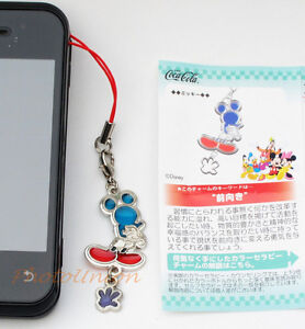 Coca Cola Disney Phone Strap Decoration Charm Keychain Decor Mickey Mouse A172