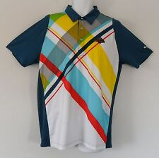 ~SPECIAL EDITION~Puma DUO SWING GRAPHIC Polo WADE HAMPTON GOLF CLUB Shirt~Mens M