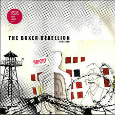 THE BOXER REBELLION Code red w/ 2 UNRELEASED RED UK 7 INCH VINYL SEALED 2004