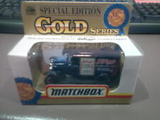Rare Matchbox Car Model T Ford Kelloggs Corn Flakes Special Edition Gold Series