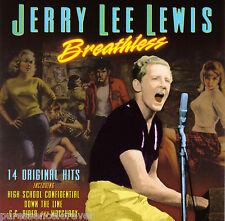 JERRY LEE LEWIS - Breathless: 14 Original Hits (UK/EU 14 Tk CD Album)