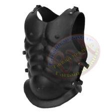 Lorica Musculata Brustpanzer Rüstung Ritterhelm Muskelrüstung Gladiator schwarz