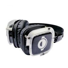 Écouteurs noirs microphone RF sans fil