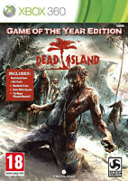 Dead Island Game of the year Edition GOTY jeu Microsoft Xbox 360 PAL FR Complet
