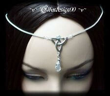 ^v^Stirnschmuck*Crystal Celtic*Gothic*LARP*circlet*medieval*Tiara*keltisch^v^