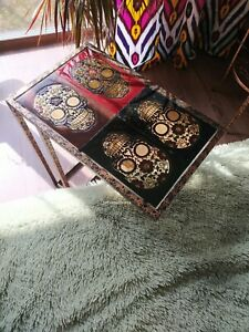 Epoxy Resin Coffee table, , Laptop stand, Sugar Skull, Mexican