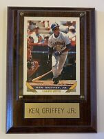 1993 TOPPS #179 KEN GRIFFEY JR MLB BASEBALL CARD VINTAGE COLLECTOR'S PLAQUE -WOW
