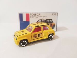 TOMICA F36 - RENAULT 5 TURBO RALLY [YELLOW] ABSOLUTELY MINT VHTF MADE IN JAPAN