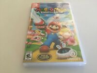 Mario + Rabbids Kingdom Battle (Nintendo Switch, 2017) NEW