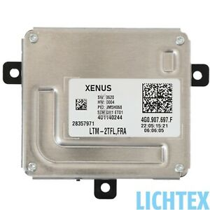 XENUS 4G0907697F LED Tagfahrlicht Blinker Steuergerät Ersatz für DELPHI Audi VW
