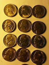 Jefferson Nickel Set 1938-1952 bu uncirculated choice to gem complete 39-d 42-d