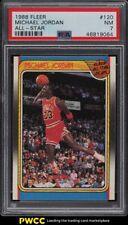 1988 Fleer Basketball Michael Jordan ALL-STAR #120 PSA 7 NRMT
