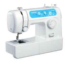 Brother JS1700 Portable Free Arm Sewing Machine - White NEW