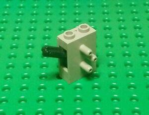 Lego Technic Pneumatic Switch Brick 1x2x2 [4694] Light Grey x1