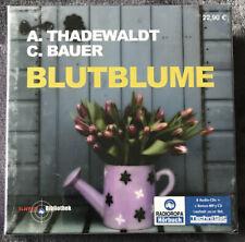 Hörbuch ? Blutblume ? A. Thadewaldt & C. Bauer     8CDs + 1mp3 Hörbücher NEU