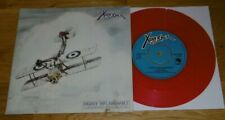 X RAY SPEX - HIGHLY INFLAMMABLE - RED VINYL - EXCELLENT - 1979