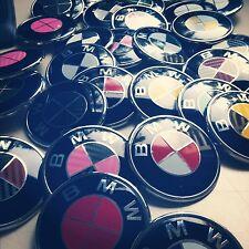 BMW Emblem Color Changing Stickers Overlays Vinyl Decal Custom Emblem