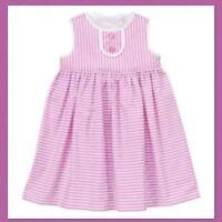 NWT NEW Gymboree PREPPY PEACH Summer Peach Bow Poplin Dress Girl 3T 5T