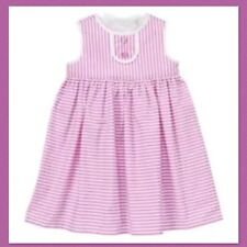 "NWT 3T Gymboree ""Pinwheel Pastels"" Pique Cotton Purple STRIPED SUN DRESS . RARE!"