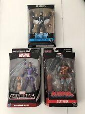 Marvel Legends Lot of 3 Black Bolt Deathlok Machine Man NIB