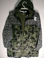 BRANT NEW ADIDAS JACKET CAMO REFLECTIVE/URBAN/STYLE MEN'S SIZE XX LARGE
