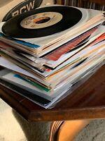45 rpm LOT *** 100 ROCK & POP vinyl jukebox RECORDS *** 60s 70s 80s *** Near Mt