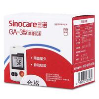 GA-3 Blutzuckerteststreifen 50 Stk. + Testpapier 50 Stk. Lanzetten brauchenDBSD