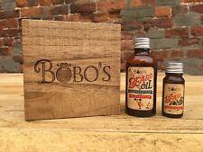 BOBOS BEARD COMPANY MENS GIFT SET BEARD OIL + BOMB INTENSIVE BEARD TREATMENT