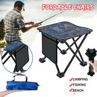 Lightweight Outdoor Compact Folding Fishing Stool Mini Chair Small Seat JNJHBB