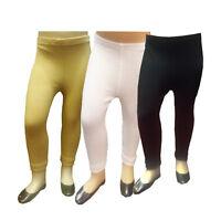 BOYS GIRLS KIDS THERMAL WARM BASE LAYER LONG JOHN UNDERWEAR PANTS Legging