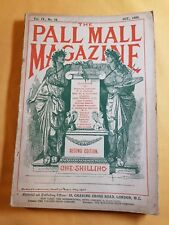 Antique : THE PALL MALL MAGAZINE : Oct 1894 : Stories, Articles & Adverts