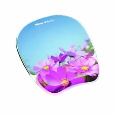Fellowes Photo Gel Mouse Pad Wrist Rest With Microban Protection - (9179001)