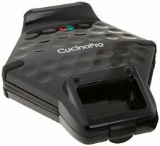 NEW CucinaPro Bubble Waffler Black FREE SHIPPING