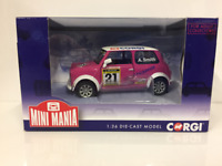 Corgi CC82293 Mini Miglia Aaron Smith 2012 Scale 1:43