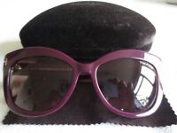 Tom Ford purple frame sunglasses. Alistair. With case. TF 524.