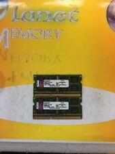 Kingston 8GB 2X4GB DDR3 PC3-8500 1066MHz 204p SO-DIMM LOW DENSITY KVR1066D3S7/4G