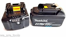 2 NEW Makita BL-1840B 18V GENUINE Batteries 4.0 AH W/ Fuel Gauge Fr Drill