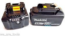 2 NEW Makita BL1840B 18V GENUINE Batteries 4.0 AH W/ Fuel Gauge Fr Drill,18 Volt
