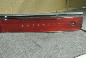 1995-1997 INFINITI J30 LOWER CENTER TAIL FINISH PANEL OEM, 166-58711