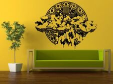 Wall Room Decor Sticker Mural Decal Mandala Of Life Graffiti Big Large L408