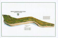"ROYAL DORNOCH - Vintage Golf Course Maps print (30"" x 19"")"